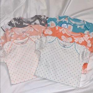 NWOT 6 piece onesies